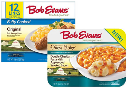 Bob Evans refrigerated side dish and sausage