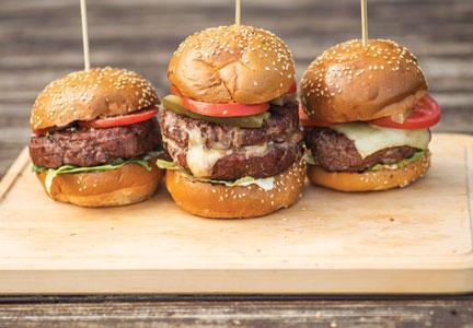 Man Cave Turkey Burgers : Turkey burger stock photos images alamy