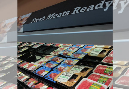 Beyond Burgers will be sold in the meat case at Kroger-owned stores.