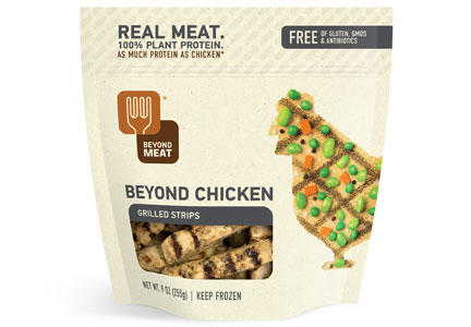 Beyond Meat Beyond chicken Chicken strips