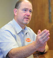 Bill Ricken, Tyson Foods