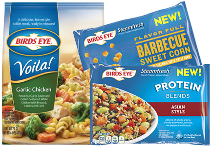 Bird's Eye new products, Pinnacle Foods