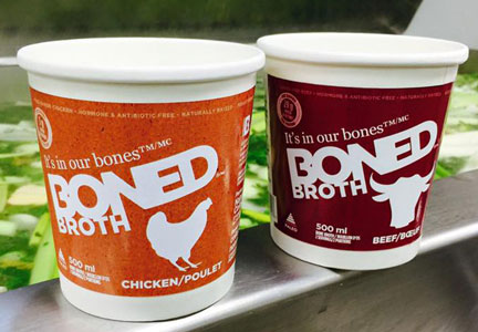 Boned, A Broth Company broth products