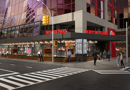 Boston Pizza unveils the 'Restaurant of the Future'