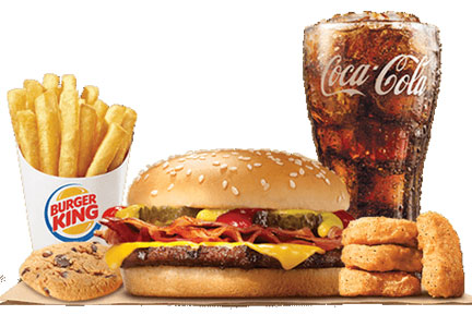 Burger King 5 for $4 value meal
