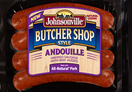 Johnsonville Butcher Shop andouille