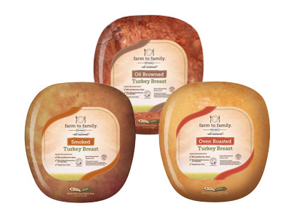 Butterball Farm to Family no antibiotics ever turkey lunch meat