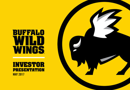Buffalo Wild Wings investor presentation May 2017