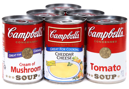 Campbell Soup shares fall after earnings miss and profit warning