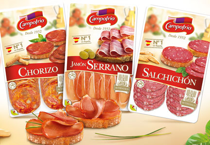 Campofrio meat products