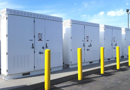 Tesla Energy storage units at Cargill plant
