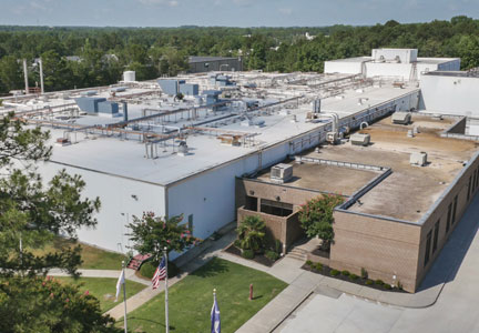 Cargill ground beef processing plant in Columbia, South Carolina