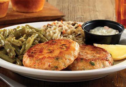 Cracker Barrel salmon patties