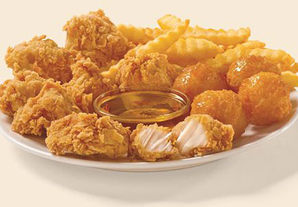 Church's Chicken developed Chicken & Buscuit Bites to celebrate Chicken and Biscuit Month in September.