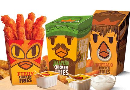 Burger King Chicken Fries Flavors
