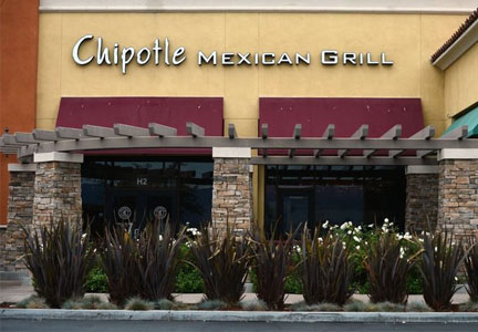 Chipotle Mexican Grill in Simi Valley, Calif.