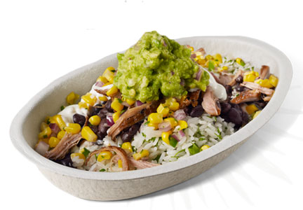 Chipotle carnitas bowl