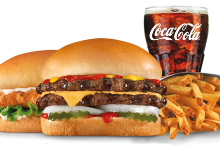 $4 Real Deal available at Carl's Jr. and Hardee's restaurants