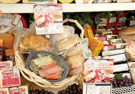 The more that food is handled in the deli, the more at risk it is for being contaminated.