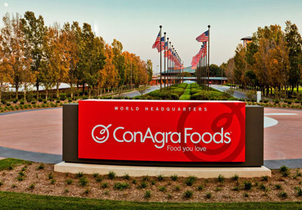 ConAgra CEO tells employees to brace for change.