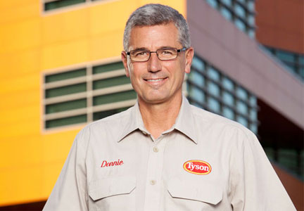 Donnie Smith, CEO of Tyson Foods