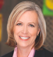 Sandra B. Cochran, president and CEO of Cracker Barrel