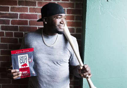 Chef's Cut Real Jerky and David Ortiz of the Boston Red Sox have formed a partnership.
