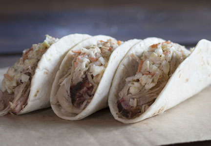 Butcher Tacos, Dickey's Barbecue Pit
