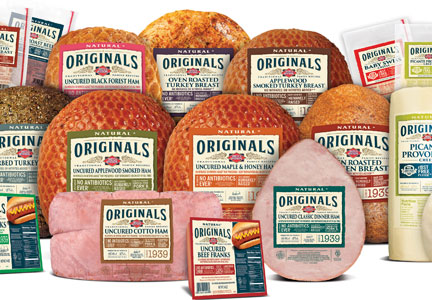 Dietz & Watson's Originals line of antibiotic-free, organic and rBST-free deli products