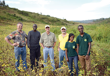 Donnie Smith traveled to Rwanda in 2009 as a part of the One Egg project.