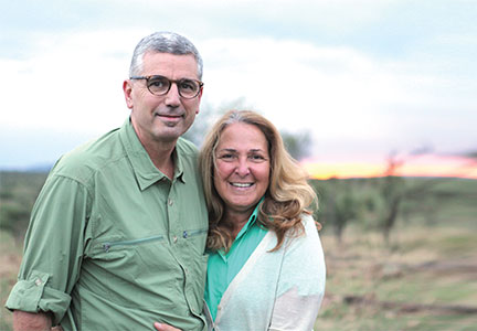 Donnie Smith and his wife Terry went to Tanzania where they regularly volunteer to help local farmers grow more food.