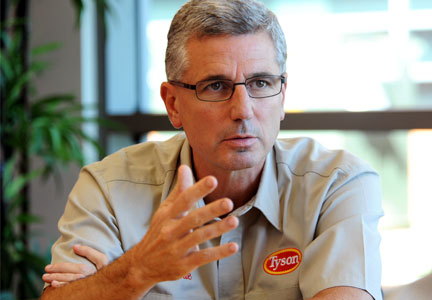 Donnie Smith, CEO, Tyson Foods