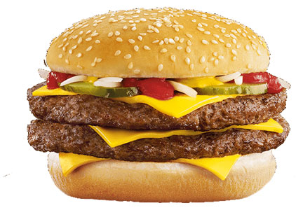 McDonald's Double Quarter Pounder
