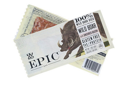 Epic Provisions Wild Boar with Uncured Bacon snack bar