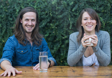 Taylor Collins and Katie Forrest, Epic Provisions founders