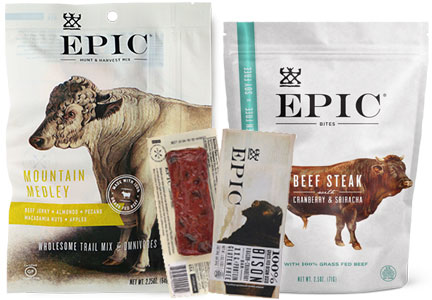 Epic provisions meat snacks, General Mills