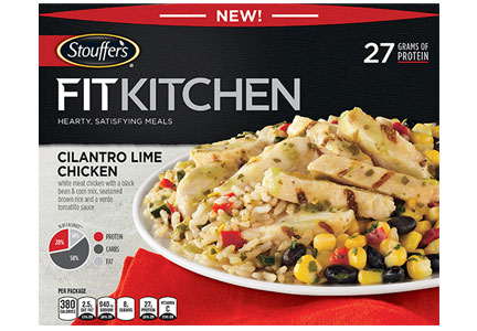 Nestle recently introduced Fit Kitchen, a line of high-protein meals.