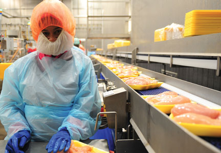 Operations at the Tyson Foods Vienna plant have become more complex.