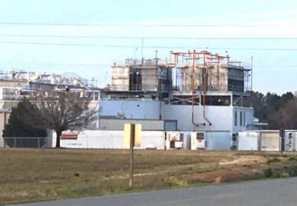 Tyson Foods, Vienna, Georgia tray pack poultry plant