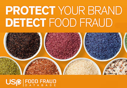 The Food Fraud Database, Alchemy Systems and the U.S. Pharmacopeial Convention