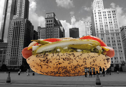 The Foodseum in Chicago pays homage to the frankfurter.