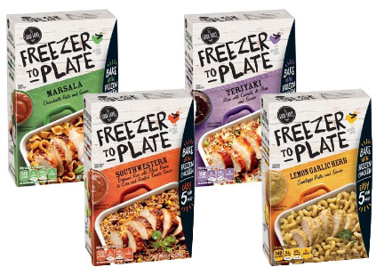 General Mills Freezer to Plate sauces