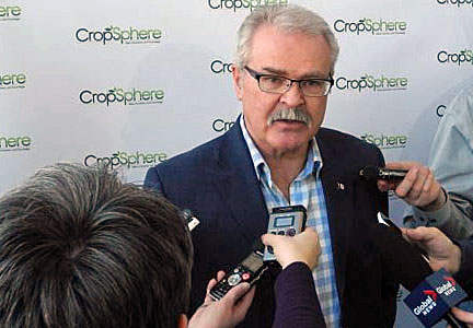 Canadian Agriculture Minister Gerry Ritz