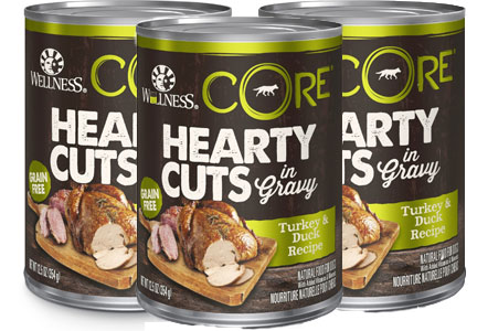 Hearty Cuts with Gravy pet food