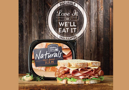 Hillshire Farm Naturals lunchmeat ad