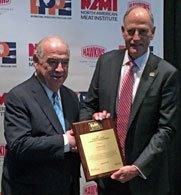 Barry Carpenter and Sheldon Lavin at the IPPE Annual Awards Ceremony and Luncheon