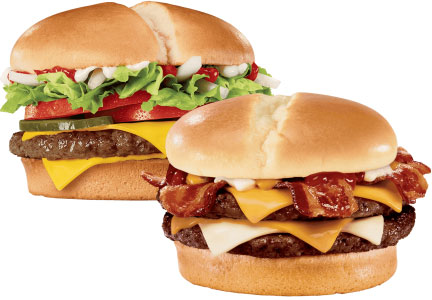 Jack in the Box burgers, new and improved