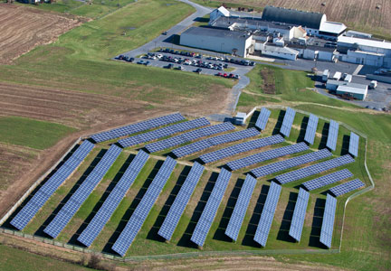 John F. Martin & Sons solar array and plant complex
