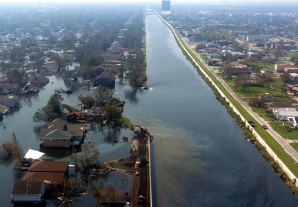 Hurricane Katrina and subsequent floods in the days to follow resulted in more than 1,800 deaths and more than $100 billion in property damage throughout the Southeast.