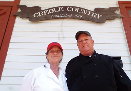Deanie Bown and Vaughn Schmitt, co-owners of Creole Country Sausage, found their business under 3 feet of water.